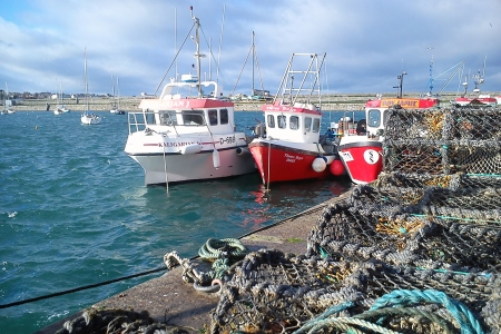 Fishing boats and cages, Dun Laoghaire, Dublin. Photo Credit Coast Monkey Photography
