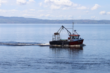 Fishing boat at Moville, Donegal. Photo credit CoastMonkey photography.