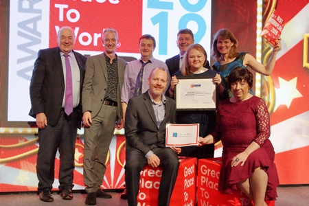 Marine Institute recognised as one of the Best Places to Work in Ireland. Photo Cr Jonathan White