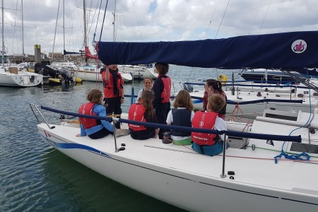 Howth Sailing Club teaches children about sailing and marine science