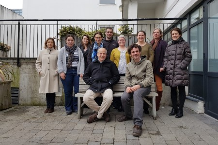 The INvertebrateIT partnership at the 2nd Partner Meeting in Dublin held 12-13th  April 2018