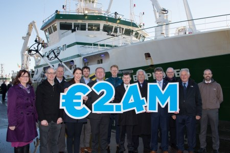 Minister announces €2.4 Million Investment by the Marine Institute in Industry-Led Marine Projects. Pic Darragh Kane