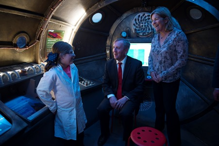 Minister Creed opens Ireland's first sea science gallery in Galway City Museum. Photo Cr Andrew Downes, XPOSURE