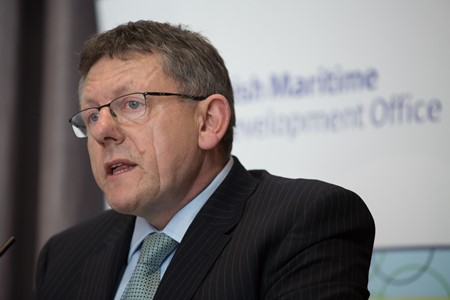 Liam Lacey, Director of the Irish Maritime Development Office (IMDO)