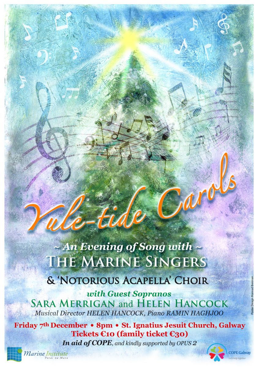 Marine Institute Singers Christmas 2018