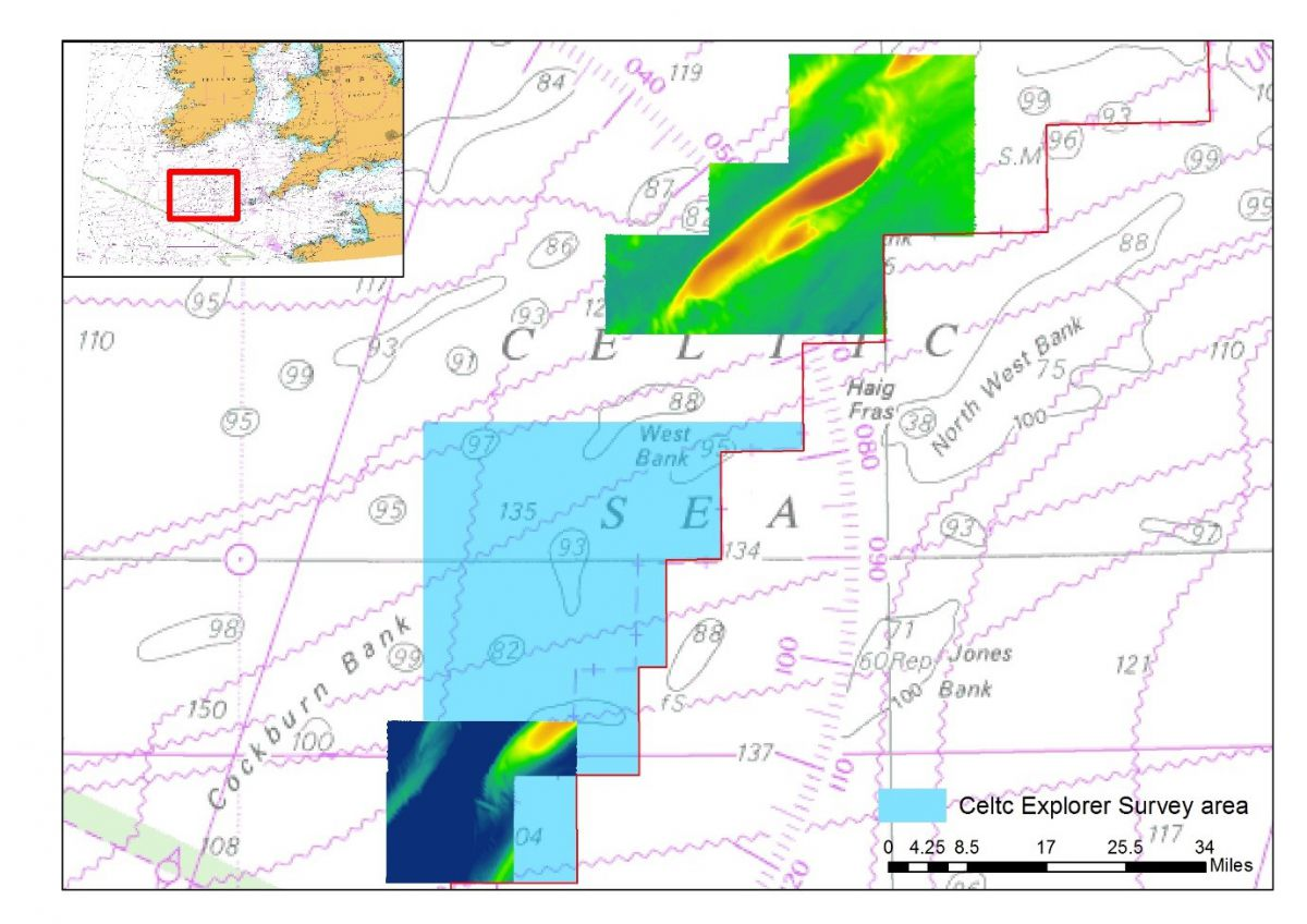 INFOMAR survey to map the Celtic Sea seabed