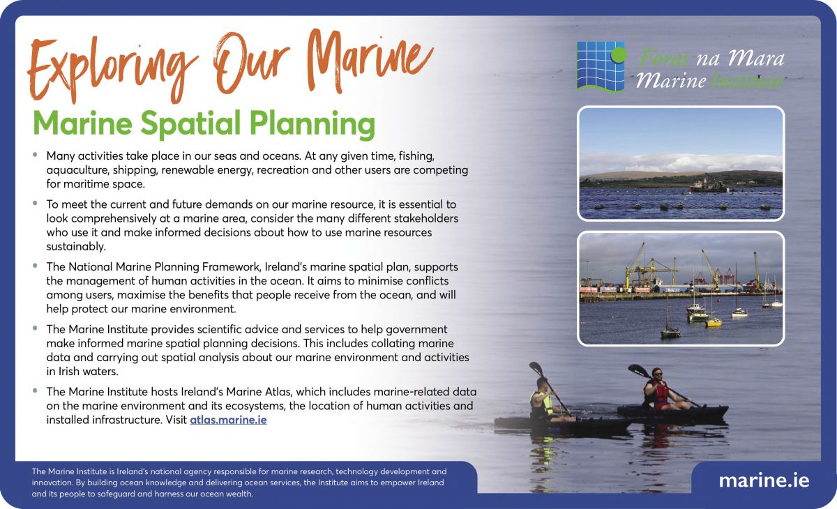 Exploring Our Marine - Marine Spatial Planning