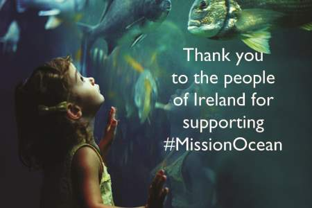 The people of Ireland contribute to Mission Starfish 2030