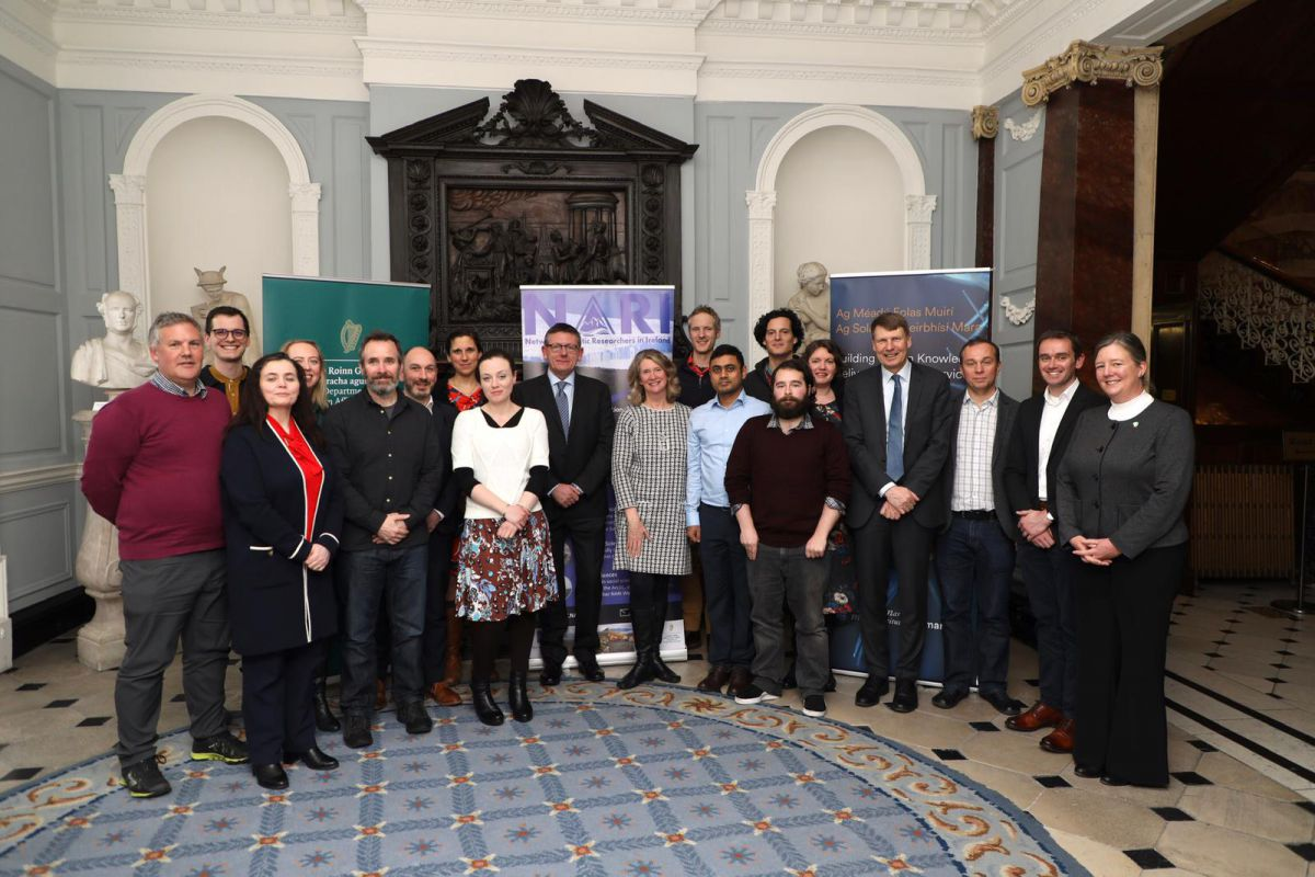 NARI Launch 28th February 2020. Photo Dr Gordon Bromley, NUI Galway