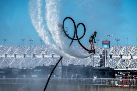 PowerFly's world-champion flyboarders will perform at SeaFest 2017 in Galway