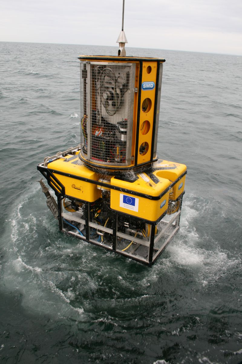 Remotely Operated Vehicle Holland 1. Image Credit Marine Institute