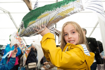 A host of activities for children are planned for SeaFest 2017. Photo Andrew Downes, Xposure.