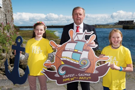 Minister Creed Launches SeaFest, Ireland's National Maritime Festival. Photo Andrew Downes, Xposure