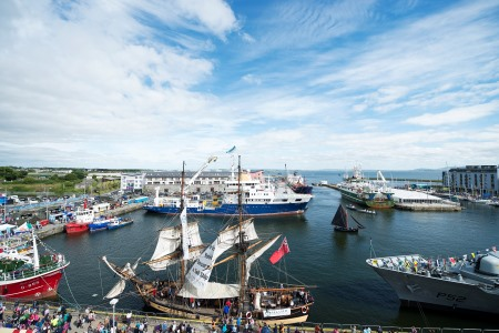 SeaFest a 'must—sea' for 100,000 this weekend in Galway. Photo Andrew Downes