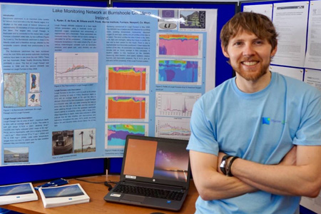 Sean Kelly, Cullen Fellowship research on estuarine physics and ecology