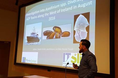Stephen McGirr - a Cullen Fellow research to improve biotoxin monitoring in shellfish
