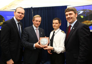 Taoiseach presented with plaque