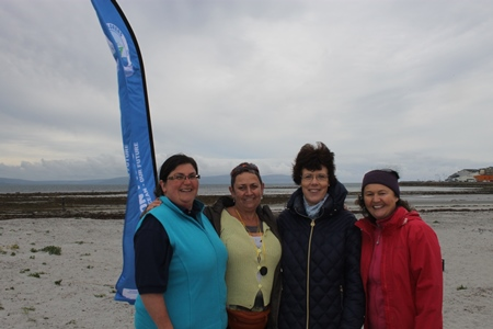 Dr Noirin Burke, Explorers Education Programme with teachers from Maree National School, Galway during the annual week long teachers training, learning about how to use marine themes on the primary school curriculum.  Photograph Cushla Dromgool-Regan