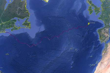 SILBO an autonomous glider finds its way to Ireland having travelled across the North Atlantic Gyre