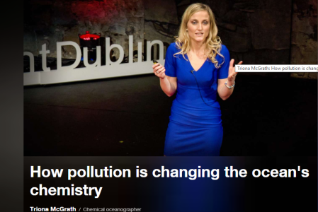 Irish Researcher and Fulbright Scholar Dr Triona McGrath at TEDxFulbright Dublin