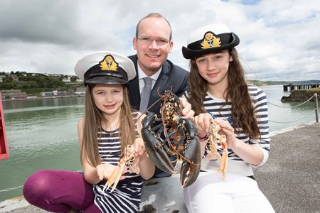 IRELAND'S FIRST NATIONAL MARITIME FESTIVAL LAUNCHES ON WORLD OCEANS DAY: As World Oceans Day is celebrated across the globe today (8 June), Minister for Agriculture, Food. the Marine and Defence, Simon Coveney T.D., has announced the first national celebration of Ireland's oceans, SeaFest. The inaugural SeaFest, will take place this year in Cork Harbour on 10 and 11 July, and will see thousands of visitors enjoying the fruits and pleasures of the sea, from boating trips, yacht sailing, open water swimming,