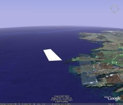 Google Earth Approx area surveyed