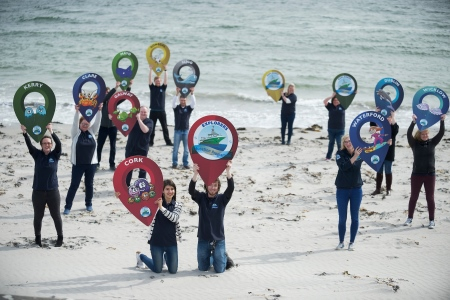 Explorers Education Programme makes its mark around the Coast of Ireland. Photo XPOSURE, Andrew Downes
