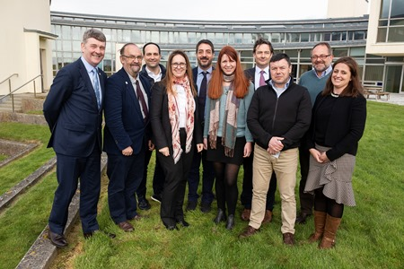 EurofleetsPlus (alliance of European marine research infrastructure) kick off meeting takes place at the Marine Institute. Photo Cr Andrew Downes, XPOSURE