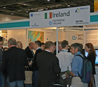 Oceanology Stand 2010