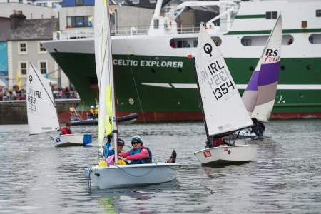 Try Sailing  at Seafest 2017, the National Maritime Festival which ran at the weekend in Galway. Photo:Andrew Downes, xposure .