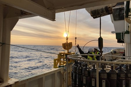 Climate change research in the Arctic on board the RV Celtic Explorer