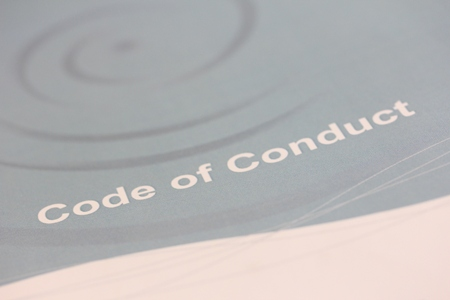 Code of Conduct. Photographer Cushla Dromgool Regan