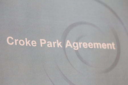 Croke Park Agreement. Photographer Cushla Dromgool Regan