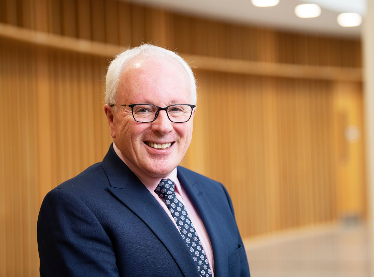 Dr Paul Connolly, CEO of the Marine Institute