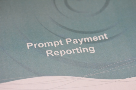 Prompt Payment Reporting. Photographer Lisa Doran