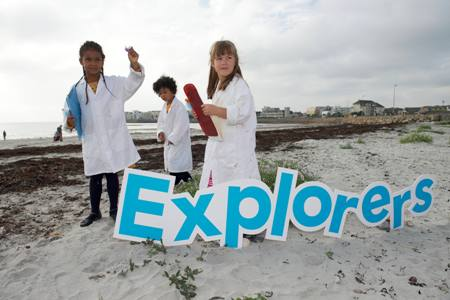 Explorers Education Programme. Explorers Lesson Plans. Photographer Andrew Downes