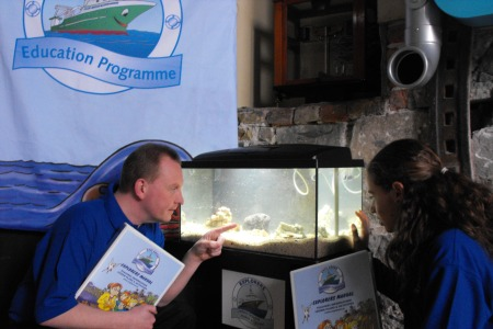 Setting up your Own Aquariuam. Photographer Noirin Burke, Explorers Education Officer