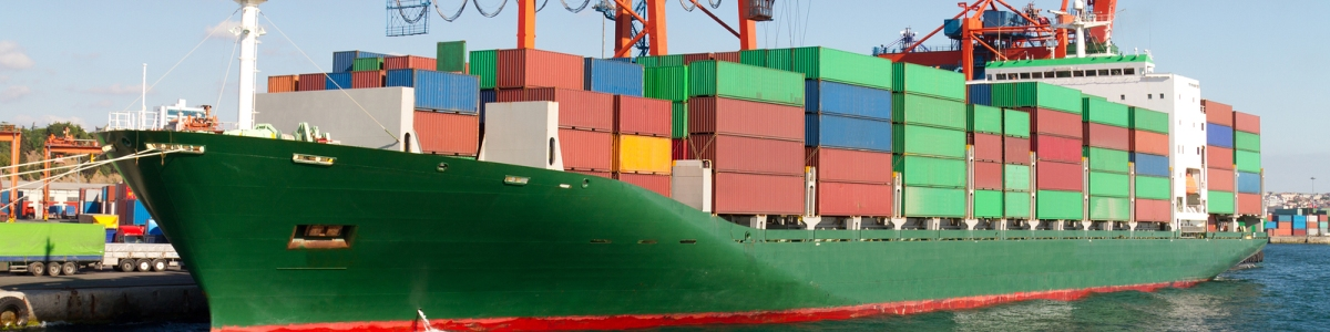 Shipping, Maritime and Ports Main Image. Big Stock Image.
