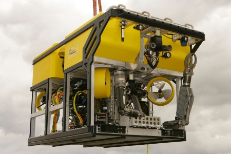 Deep Water ROV. Copyright Marine Institute