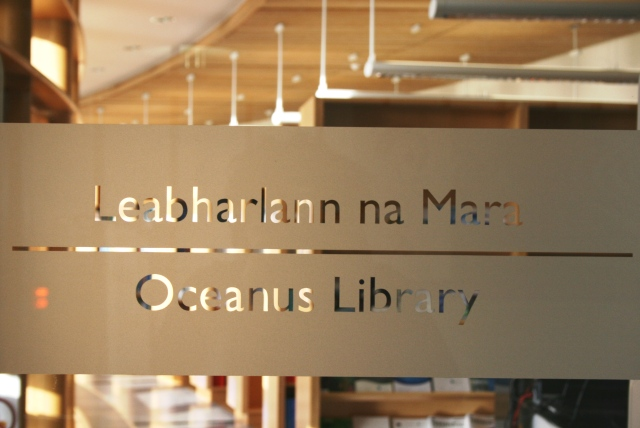 Oceanus Library. Photographer Cushla Dromgool Regan