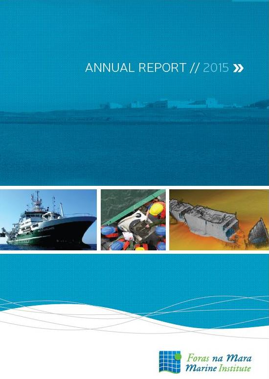 Link to the Marine Institute 2015 Annual Report in English on OAR