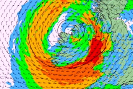 Storm Ophelia 16th October 2017