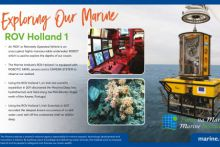 The Marine Institute's Remotely Operated Vehicle - ROV Holland 1