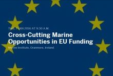 Cross Cutting Marine Opportunities in EU Funding