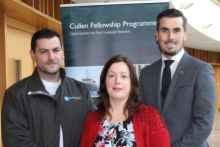 James Fahy (University College Dublin), Martina Maloney, Research Funding Office, Marine Institute and Philip Stephens (NUI Galway)