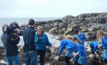 Loophead Summer Hedge School, County Clare is one of the ten Explorers Education Programme Outreach centres that ran seashore safari's for primary school students in 2017