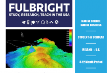 Fulbright-Marine Institute Award to conduct Research in the USA: Apply Now!