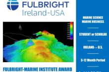 Applications open for Fulbright-Marine Institute Award
