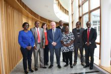 Kenya delegation visits the Marine Institute