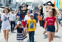 50,000 for final day of festivities of SeaFest. Picture Andrew Downes, Xposure